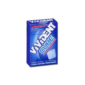 VIVIDENT CUBE ICE BLUE MINT 20 ASTUCCI