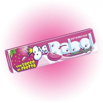 BIG BABOL PANNA FRAGOLA 24 STICKS