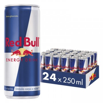 RED BULL 250 ml. 24 Lattine
