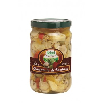 ANTIPASTO DI VERDURE 1700 ml BELOTTI