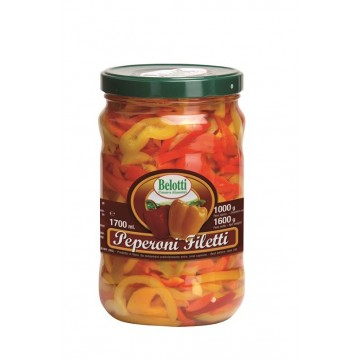 PEPERONI FILETTI 1700 ml BELOTTI