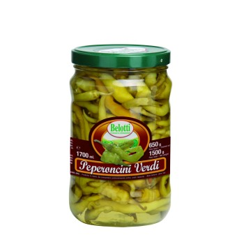 PEPERONCINI VERDI 1700 ml BELOTTI
